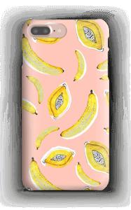 Banaani ja papaya kuoret IPhone 7 Plus