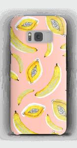 Banaani ja papaya kuoret Galaxy S8