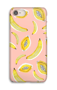 Banaani ja papaya kuoret IPhone 8