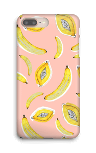 Pink Banana love case IPhone 8 Plus