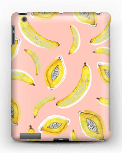 Pink Banana love deksel IPad 4/3/2
