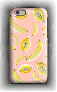 Banaani ja papaya kuoret IPhone 6 tough