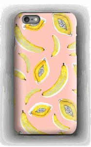 Banaani ja papaya kuoret IPhone 6 Plus tough