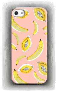 Roze fruit hoesje IPhone SE