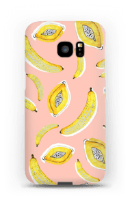 Banaani ja papaya kuoret Galaxy S7 Edge