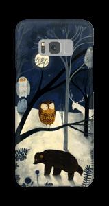 Keskiyö kuoret Galaxy S8 Plus