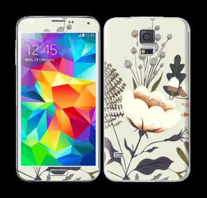Flora Skin Galaxy S5