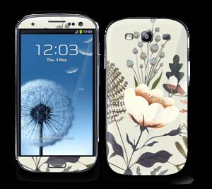 Flora Skin Galaxy S3