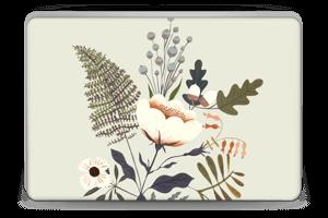 Flora Skin Laptop 15.6