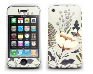 Flora Skin IPhone 3G/3GS