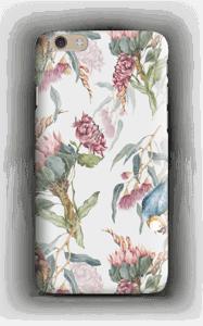 Paratiisilinnut ja valkoinen tausta kuoret IPhone 6 Plus