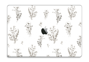 "Fleurs Sauvages Skin MacBook Pro 15"" 2016-"