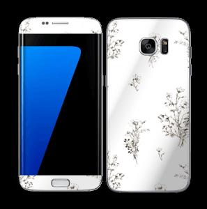 Fleurs Sauvages Skin Galaxy S7 Edge