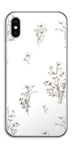 Fleurs Sauvages Skin IPhone X