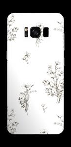 Wilde Blumen Skin Galaxy S8