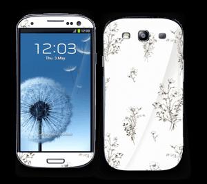 Vilde blomster Skin Galaxy S3