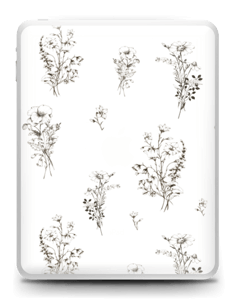 Wild Flowers Skin IPad 1
