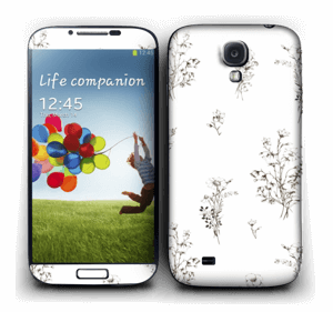 Wild Flowers  Skin Galaxy S4