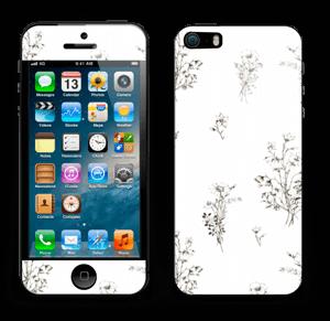 Wild Flowers Skin IPhone 5s