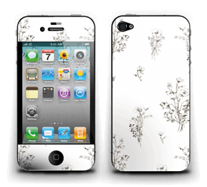 Wild Flowers  Skin IPhone 4/4s