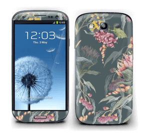 Dusty green jungle Skin Galaxy S3