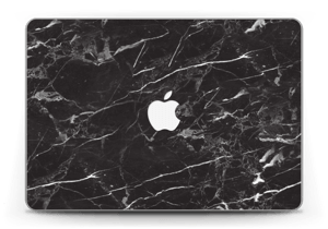 "Black Marble Skin MacBook Pro Retina 13"" 2015"