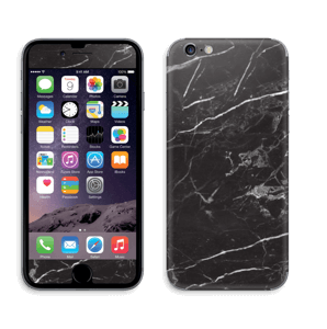 Svart Marmor Skin IPhone 6/6s