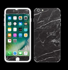 Svart Marmor Skin IPhone 6 Plus