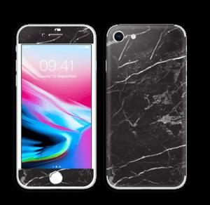 Svart Marmor Skin IPhone 8
