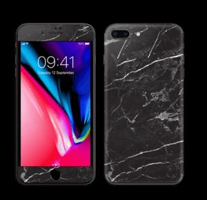 Zwart marmer Skin IPhone 8 Plus