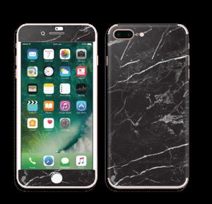 Svart Marmor Skin IPhone 7 Plus