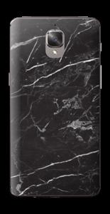 Svart Marmor Skin OnePlus 3