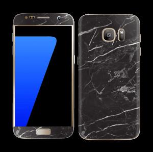 Black Marble  Skin Galaxy S7