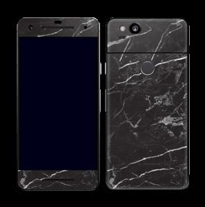 Svart Marmor Skin Pixel 2