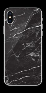 Svart Marmor Skin IPhone XS