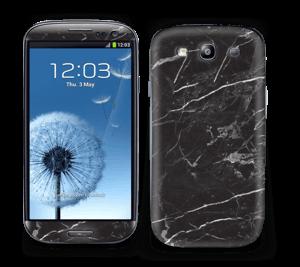 Svart Marmor Skin Galaxy S3