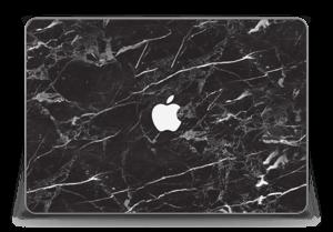"Black Marble  Skin MacBook Pro Retina 15"" 2015"
