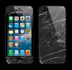 Svart Marmor Skin IPhone 5