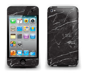 Svart Marmor Skin IPod Touch 4th Gen