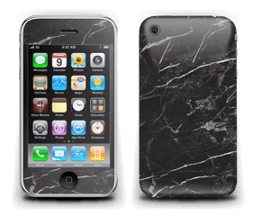 Svart Marmor Skin IPhone 3G/3GS