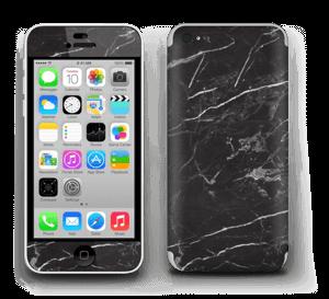 Svart Marmor Skin IPhone 5c