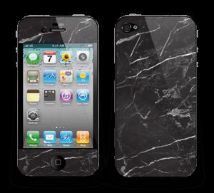 Svart Marmor Skin IPhone 4/4s