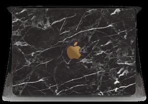 """Black Marble  Skin MacBook 12"""""""