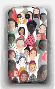 Iloiset lapset kuoret Galaxy S3