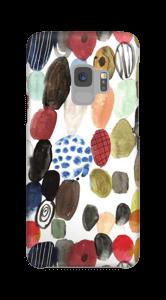 Wasserfarbe Handyhülle Galaxy S9