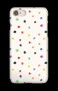 Täplät kuoret IPhone 8