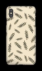 Foglie cover IPhone XS Max