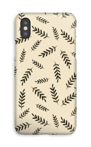 Lehdet kuoret IPhone XS