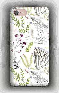 Blomster og blade cover IPhone 7
