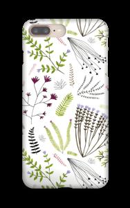 Fleurs & feuilles Coque  IPhone 8 Plus